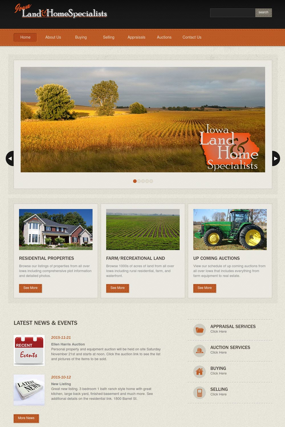 Iowa Land and Home Specialists